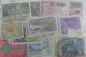 100 Italy stamps. Large. (33)