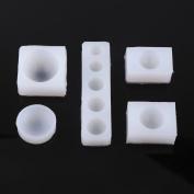 5Pcs Half Round Cabochon Silicone Mould Mould Cake Mould For Epoxy Resin,Fondant