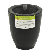 A3 - 3.7 Kg Salamander Super Clay Graphite Crucible for Precious Metal Melting Casting Gold Brass Silver Refining