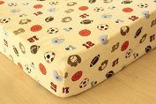Baby 8pcs Sport Crib Bedding Fitted Sheet