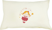 Totmart Cute Prints Pillow Covers Decorative Accent Pillowcase with Hypoallergenic Pillow for KIDS