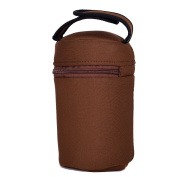 Insulated Bottle Tote Bags-Great For Bottle Feeding, Toddler Cups, Sports Drinks, Water Bottles, And Snacks Containers- Brown