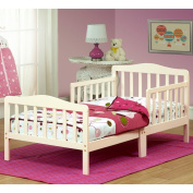 The Orbelle Contemporary Solid Wood Toddler Bed - French