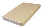 LA Baby 7.6cm Mini/Portable Crib Mattress with Organic Cotton Layer