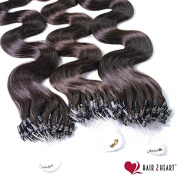 50 x 1g Genuine Remy Hair Micro Ring/Loop Extensions (60 cm - , Length Quality - Available in a Range of Colours Very Good Quality