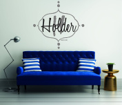 Beautiful Custom Family Name - Wall Decal For Home Bedroom Living Room(766)