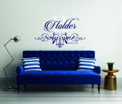 Modern Custom Family Name - Wall Decal For Home Bedroom Living Room(764)