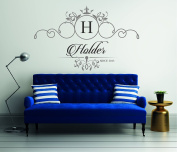 Custom Family Name - Wall Decal For Home Bedroom Living Room(763)