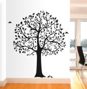 Wall Decor Family Tree Wall Decal Art Sticker Mural- Office Decor - Home Decor - Nursery Decor