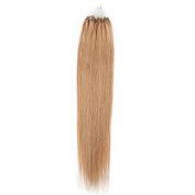 Beauty7 Gloden Yellow Long Straight 41cm 46cm 50cm 60cm 60cm 40g0.5g 25g0.5g 50g0.5g 50g1g 100g1g Easy Loops Micro Rings Beads Tipped 100% Real Human Microring Hair Extensions Beauty Design Salon Wigs Styling Party Woman Ladies Girls Cosplay Fashion De ..