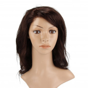Beauty7 Black Bean Dark Brown Wood Brown Natural Charming Loose Bob Lace Front Body Wave 50cm 125g Short Glueless Layered Wavy Cury Full Head Wigs Styling Party Woman Ladies Girls Cosplay Fashion Design