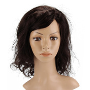 Beauty7 Black Natural Charming Loose Bob Lace Front Body Wave 50cm 125g Short Glueless Layered Wavy Cury Full Head Wigs Styling Party Woman Ladies Girls Cosplay Fashion Design