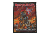 Iron Maiden Maiden England 88 Heavy Metal Music Band Woven Applique Patch by Import
