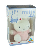Miffy Baby Pink Girl Rattle Plush Soft Toy