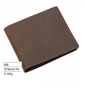 Mens genuine hide leather wallet organiser 608