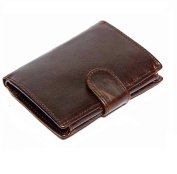 Mens genuine hide leather wallet organiser 9049