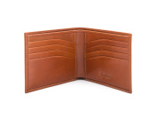 SAGEBROWN Compact Classic Bill fold Wallet