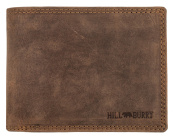Hill Burry Men's Wallet Natural tanned oiled buffalo - Vintage Portmonnaie