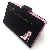 Credit Card Holder Wallet for Women Credit Card Case Leather
