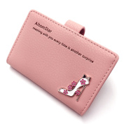 Credit Card Holder Card Case Leather for Women - 20 Card Slots
