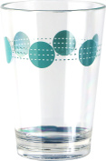 Corelle Coordinates by Reston Lloyd Acrylic South Beach Juice Glasses (Set of 6), 240ml, Clear