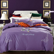 Reactive printing of cotton fashion mix and match sheets four set bedding , 1 , 200*230cm