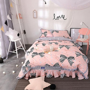 Korean Style Bedding Four Sets Of Pure Cotton Lotus Lace Princess Bed Skirt Bedspreads , 1 , 200*230