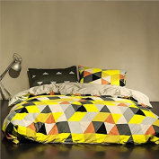 Simple Style Bedding 3D Four Sets Of AB Version Of Mixed Cotton Bed Sheets Quilt (For 1.5M-1.8M Bed) , 4 , 200*230