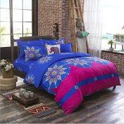 National Style Bedding 3D Four-Piece Skin-Friendly Cotton Activity Printing And Dyeing Does Not Fade Can Not Afford To Thicken The Ball (For 1.2M-2.2M Bed) , 2 , 200*230