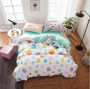 Simple Style Bedding 3D Four-Piece Set Of Active Large Flower Cartoon Students (For 1.5M-1.8M Bed) , 6 , 200*230