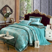 Bedding 3D Four Sets Of Wedding Tencel Satin Material High - End Luxury , 8 , 220*240