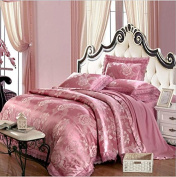 Bedding 3D Four Sets Of Wedding Tencel Satin Material High - End Luxury , 4 , 200*230