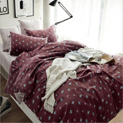 Europe And The United States Style 3D Bedding Four Sets Of Cotton Active Printing Pro - Cotton Super Soft Double Bed Linen , 13 , 200*230