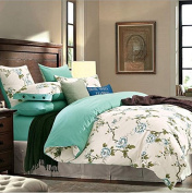 Europe And The United States Style 3D Bedding Four Sets Of Cotton Active Printing Pro - Cotton Super Soft Double Bed Linen , 16 , 200*230