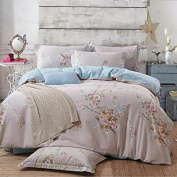 Pastoral Style 3D Bed Four Sets Of 100% Cotton Occupational Stressening Jacquard Bedding , 8 , 220*240