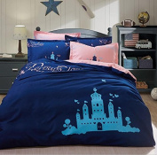3D Bedding Four Sets Of Cotton Active Printing Sanding Double Bed Linen , 3 , 200*230