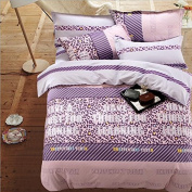 Pastoral Style 3D Bed Four Piece 100% Cotton Eco Active Stylish Luxury Child Bedding (For Bed 1.5m And 1.8m) , 4 , 1.8m