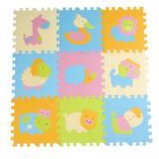 9 Pieces Of Puzzle/Waterproof Foam Mats Kids & Baby Foam Play Mats-04
