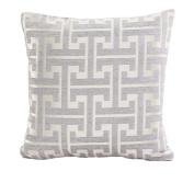Bodhi2000 45x45cm Square Pillowcase Soft Bed Square Pillow Cover Cushion Case Home Decor