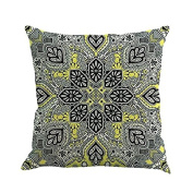 Bodhi2000 Geometry Painting Linen Cushion Cover Throw Pillow Case Sofa Home Decor