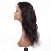 Natural Hairline 360 Full Lace Frontal Band Closure Brazilian Virgin Remy Natural Wave 100% Human Hair Circular Closures Back Lace Frontals
