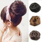 Wigsforyou Women Synthetic Hair Bun Extension Donut Chignon Hairpiece