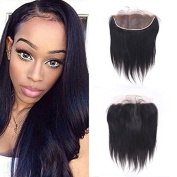 13X4 Ear to Ear Brazilian Straight Free Part Best Lace Frontals with Baby Hair