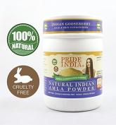 Pride Of India - Indian Amla Gooseberry Herbal Hair & Skin Conditioning Powder, Half Pound, 100% Natural