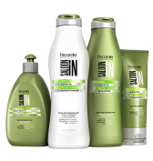 KIT PRO KERATIN ULTRA FORCE 4 STEPTREATMENT SHAMPOO+CONDITIONER+TREATMENT AND LEAVE ON HAIR