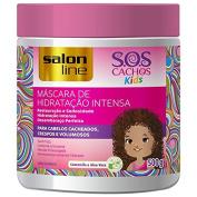 Linha Tratamento (SOS Cachos) Salon Line - Mascara Kids 500 Gr - (Salon Line Treatment