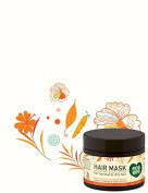 ecoLove Orange Collection Hair Mask for normal to dry hair - Carrots, Pumpkins & Sweet Potatoes. 100% VEGAN