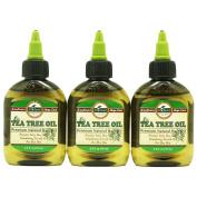 DIFEEL PREMIUM NATURAL HAIR CARE OIL-TEA TREE OIL 3PC