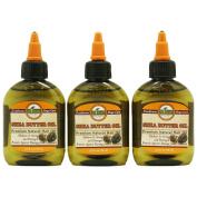 DIFEEL PREMIUM NATURAL HAIR CARE OIL-SHEA BUTTER OIL 3PC