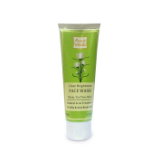 Auravedic Clear brightness pulpy face wash with neem tea tree,100g